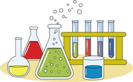 Chemistry Test Tubes and Beakers