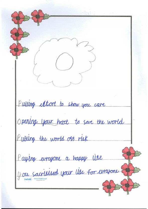 poppy-acrostic