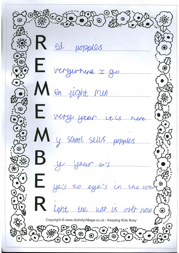remember-poem